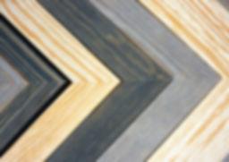 Solid wood designer picture frame mouldings.