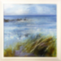 Sue Read oil framed by Handmade Picture Framing, Kilkhampton, Bude, Cornwall.