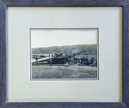 Antique photograph picture framing by Handmade Picture Framing, Bude, Cornwall.