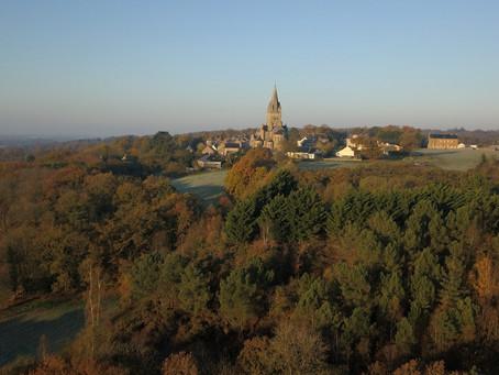 Prestation de photo aérienne gratuite pour la Mairie de Saint-Malo-de-Phily
