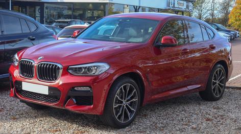 BMW G02 2018-