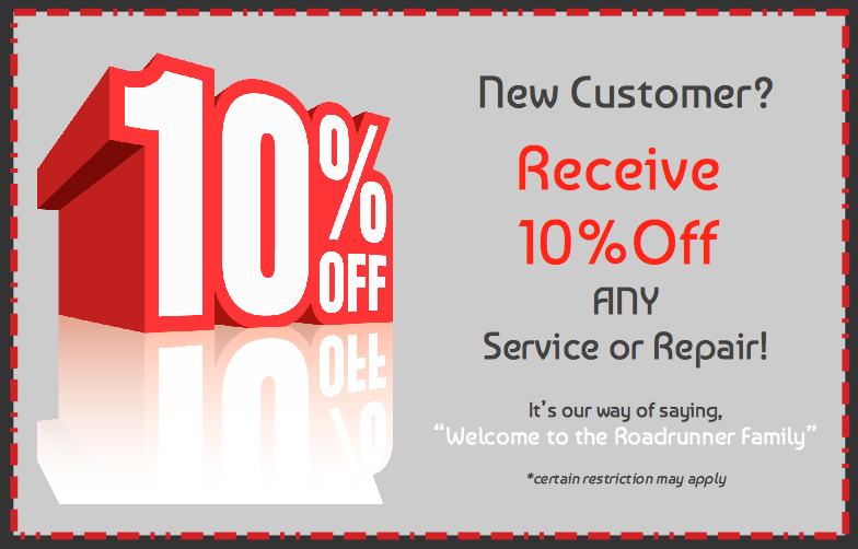 New Customer Incentive