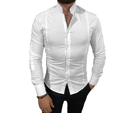 Yeni Sezon Hakim Yaka Likralı Erkek Gömlek