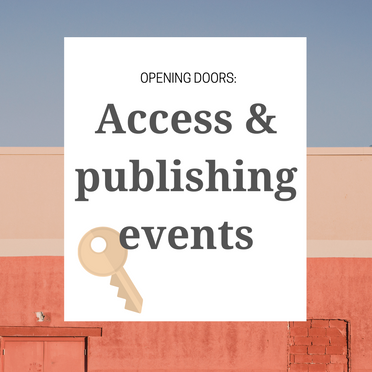 Opening Doors: How Can the Publishing Industry Make Its Events More Accessible?