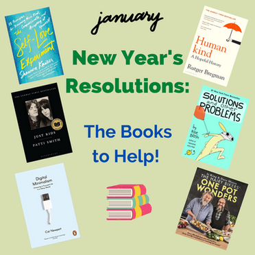 New Year's Resolutions: The Books to Help!
