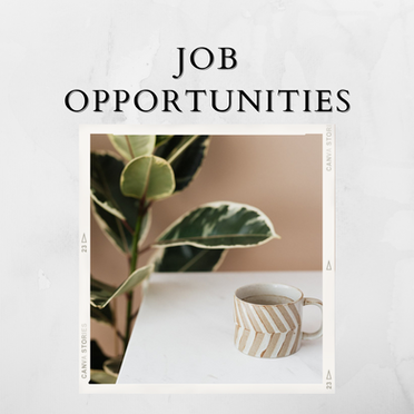 Job Opportunities - Issue 16