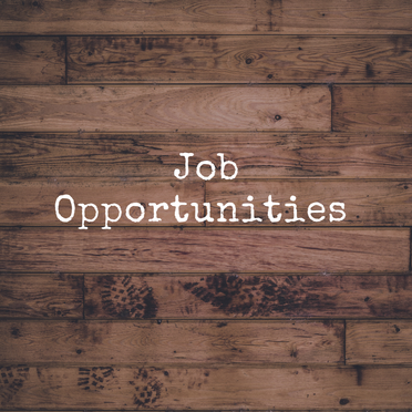 Job Opportunities (20/07/2020)