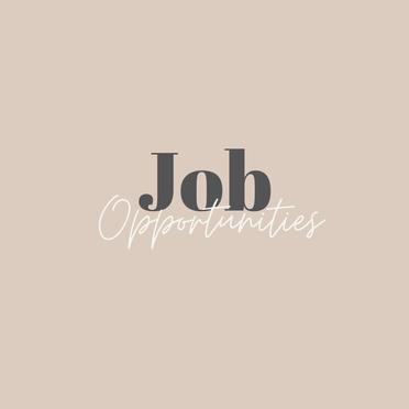 Job Opportunities (17/08/2020)
