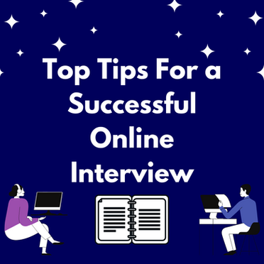 Top Tips for a Successful Online Interview