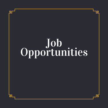 Job Opportunities (Week Commencing 06 July 2020)