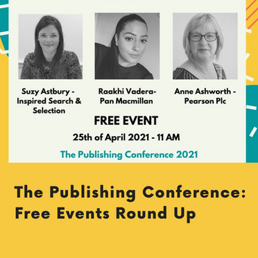 The Publishing Conference: Free events Round Up