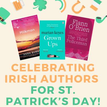 Celebrating Irish Authors for St. Patrick's Day!