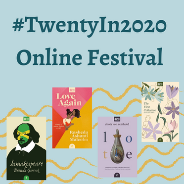 Jacaranda's Twenty in 2020 Online Book Festival and Events Round-Up