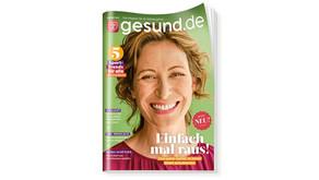 gesund.de: Chefredaktion und Konzeption