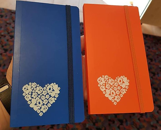Daffodil Heart Notebook
