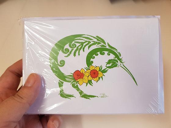 Daffodil Kiwi card pack