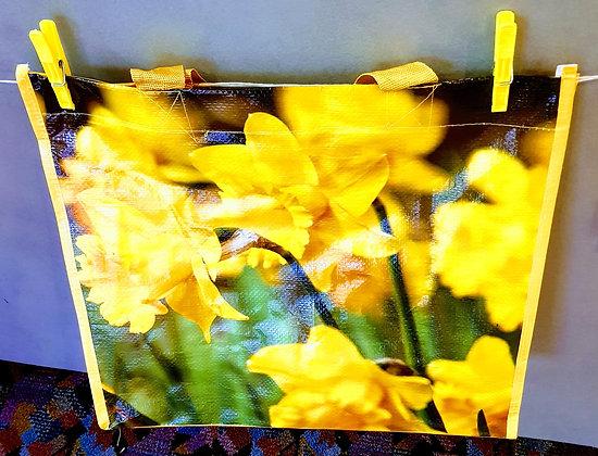 Daffodil floral tote