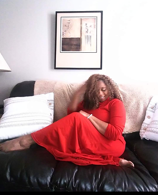 red dress on couch cameo.png