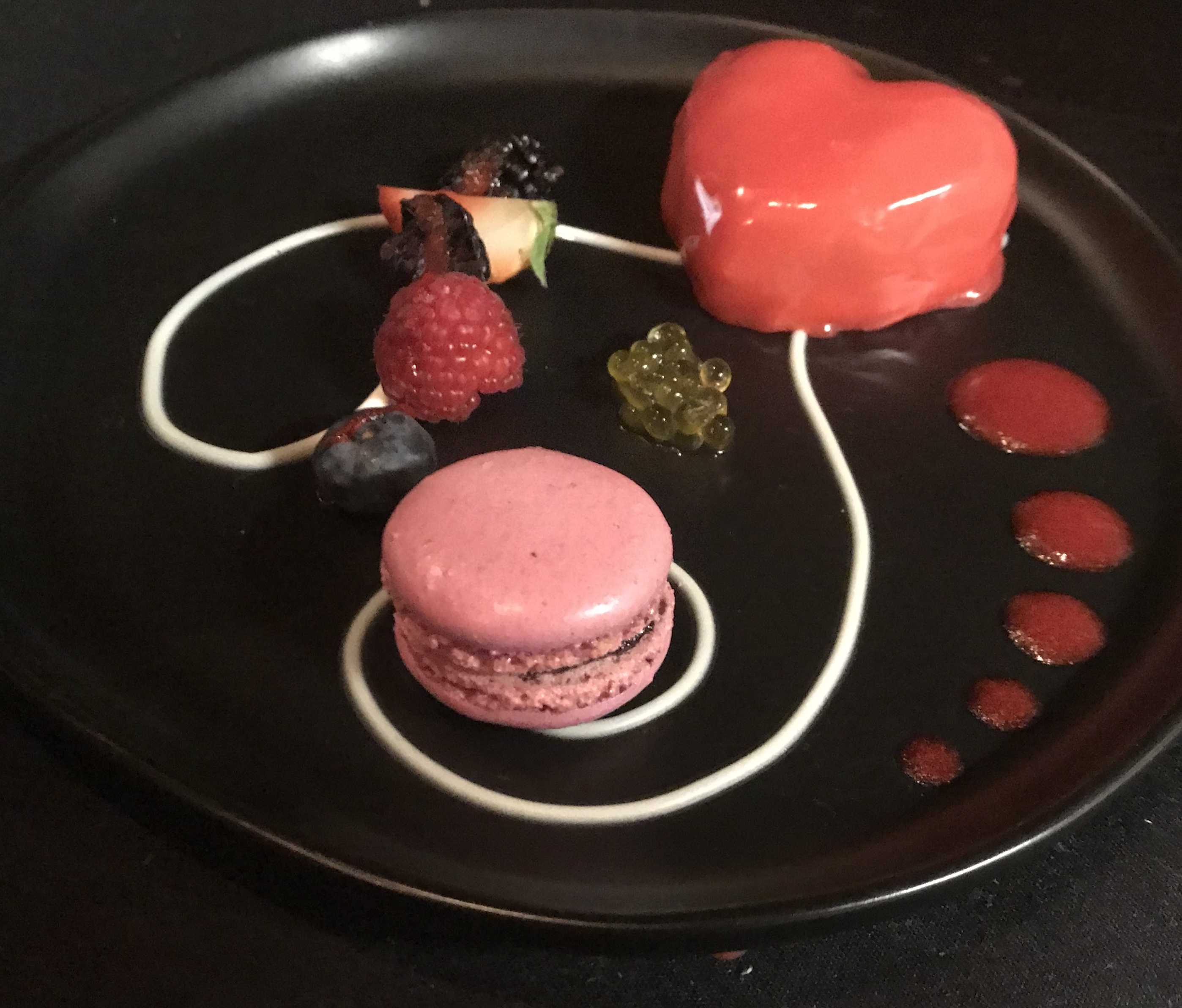 Dark Chocolate & Passion Fruit Mousse