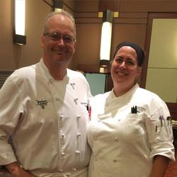 Chefs Tom & Jenny Finn