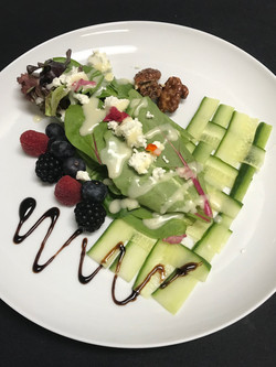 Berry & Goat Cheese Salad
