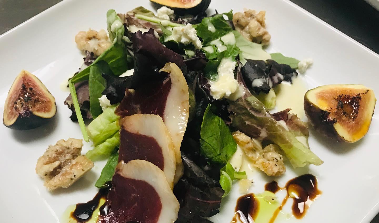 Duck Prosciutto Salad