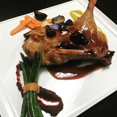Kirsch Glazed Duck
