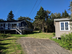 Two steps cottage to bunkhouse