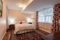 Basement bedroom - big window