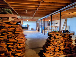 Wood for the wood stove