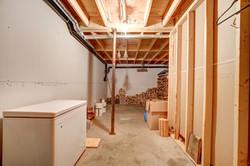 Freezer in  basement