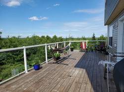 Deck is 34' x 12' - WOW!