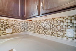 Nice backsplash