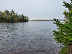 Canoe or kayak here