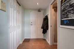 Entryway with closet