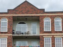The balcony & windows
