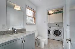 Main floor bath to laundry