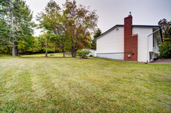 Front yard to back