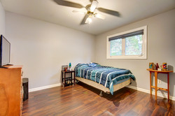 Upstairs larger bedroom