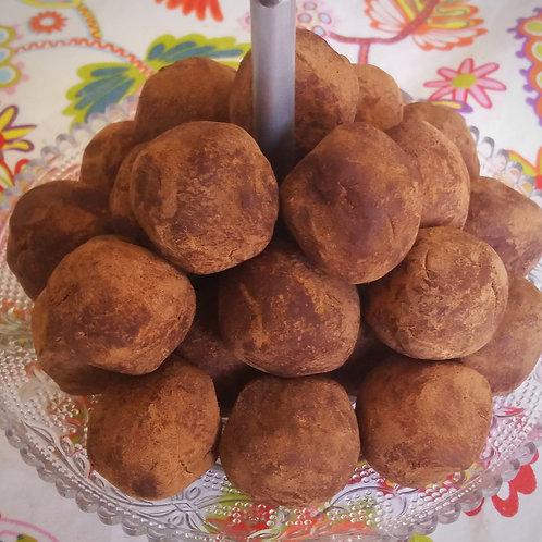 Boules chocolat façon truffe (100 g)