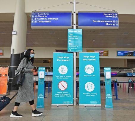 Sanitiser Stations for Major UK Airport