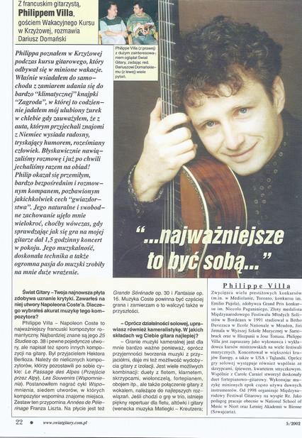 Swiat gitary /Pologne/
