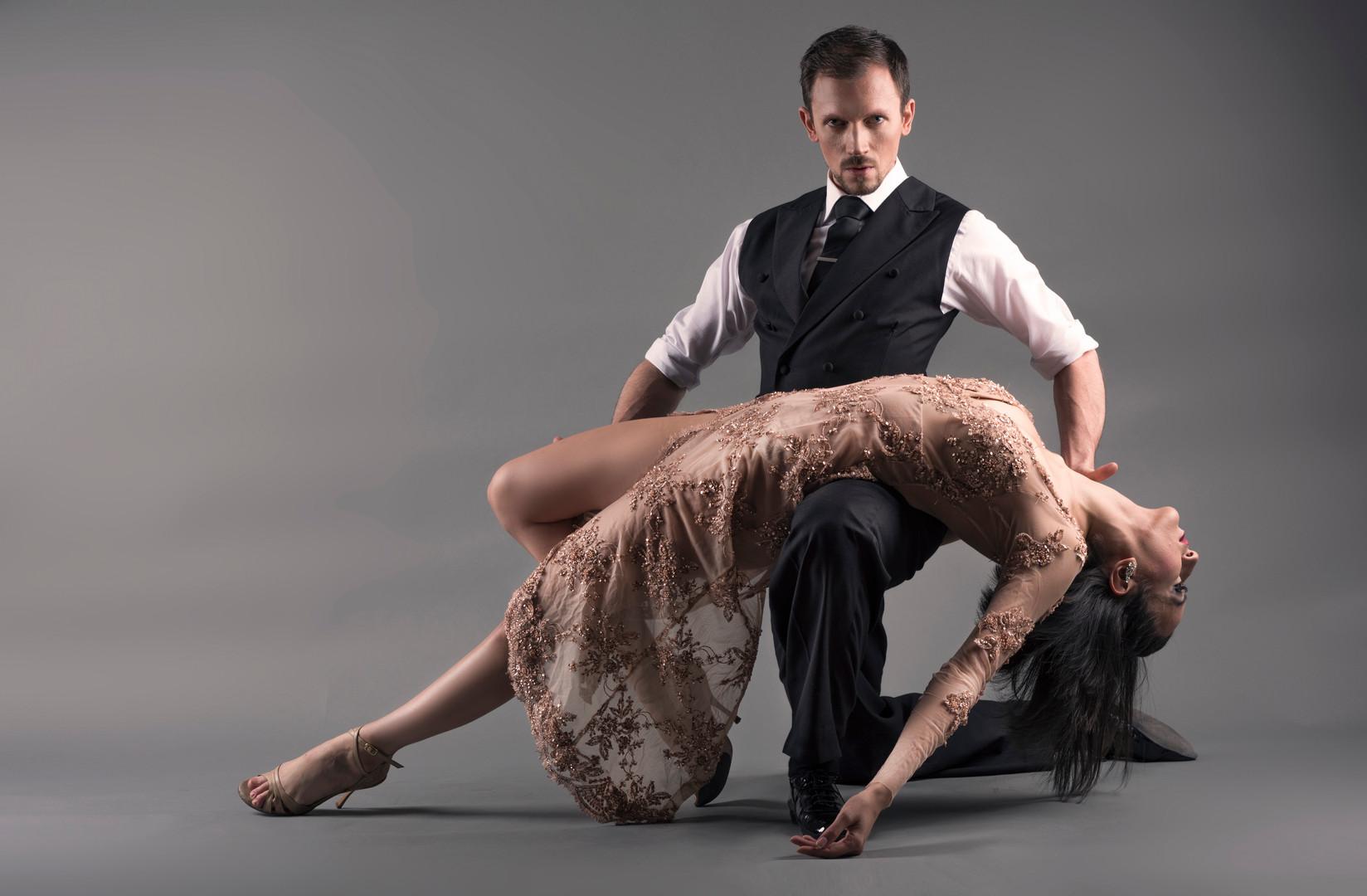 Duo  danseurs Cecile Rouanne et Remi Est
