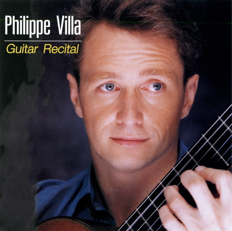 Philippe Villa. Guitar Recital