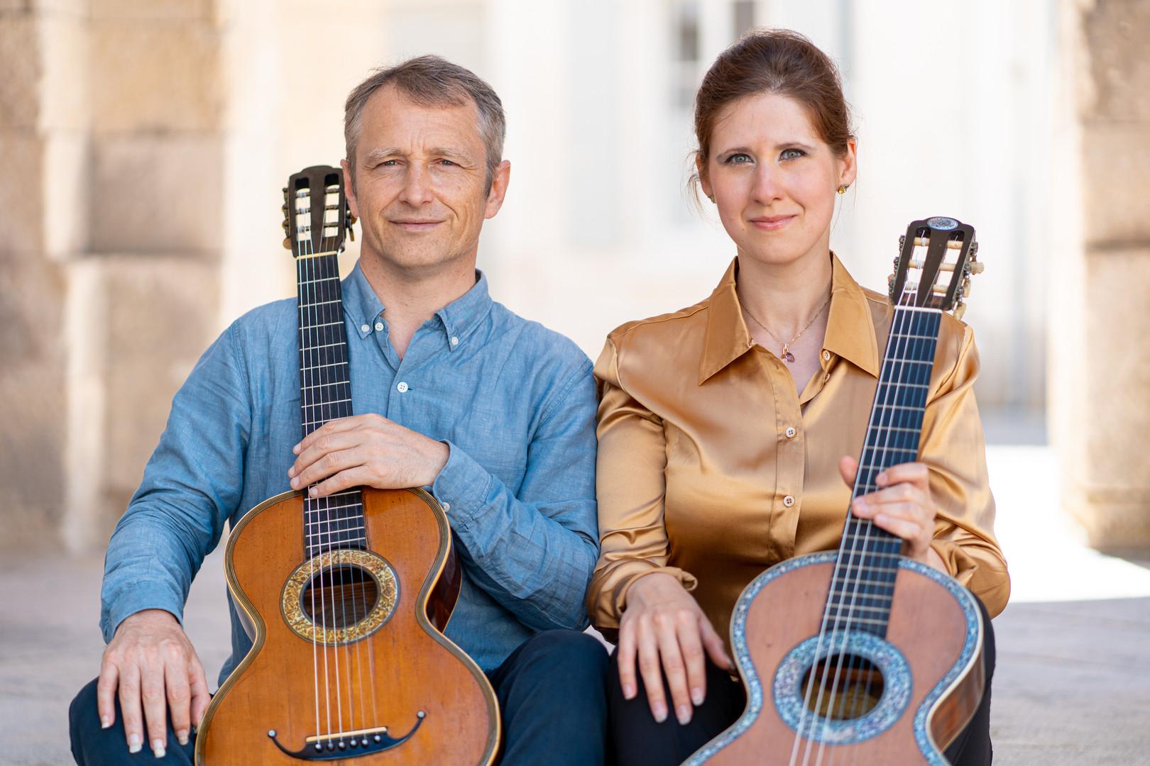 Philippe Villa et Anastasia Maximkina 2