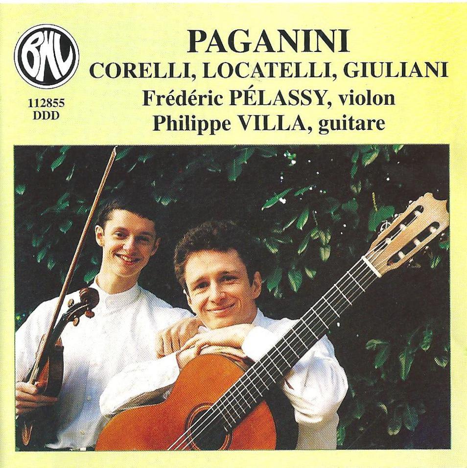Paganini, Corelli, Locatelli, Giuliani