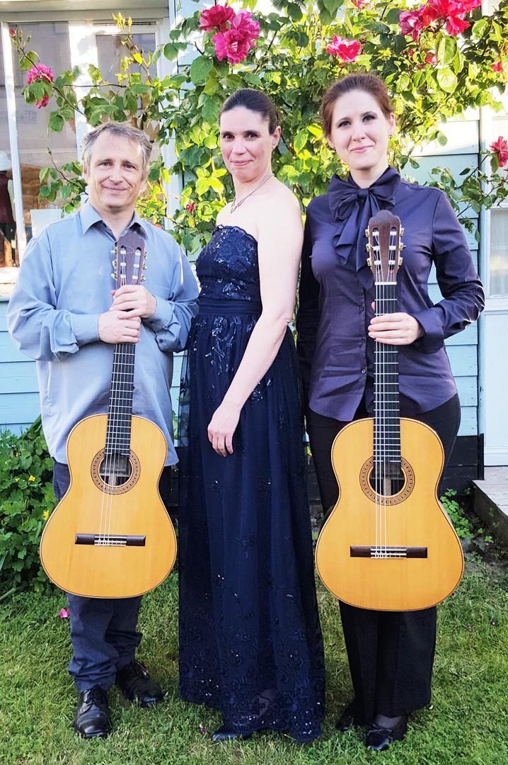 Philippe Villa, Anastasia Maximkina et Andrea Chudak