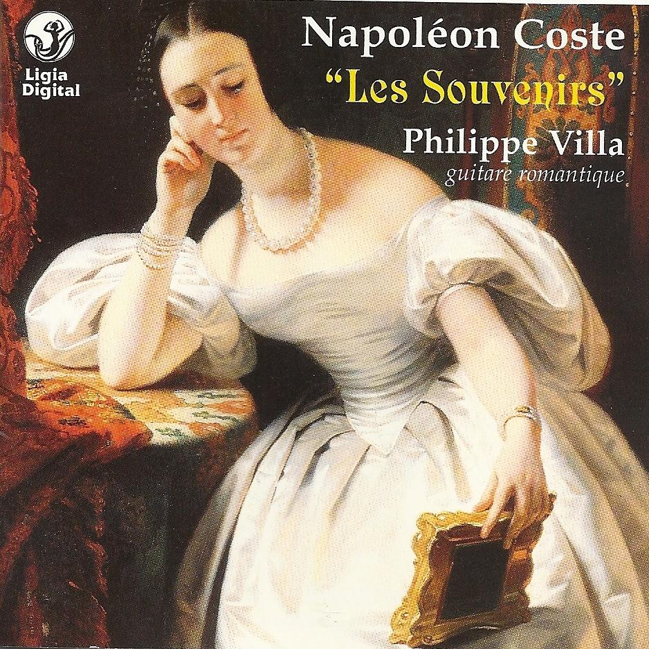 "Napoléon Coste ""Les Souvenirs"""