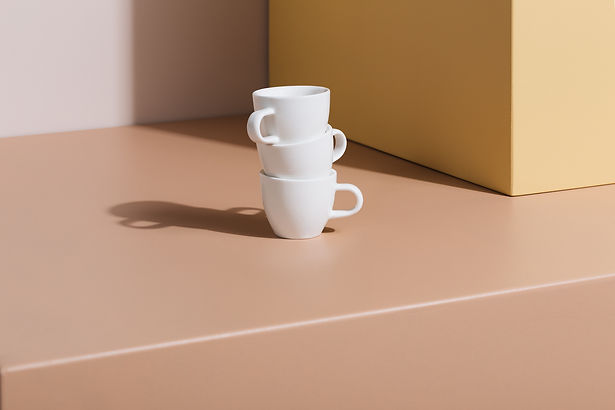 Milk, Demitasse cups. 70ml Espresso cups