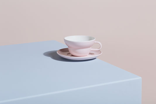 Rose Bibby Tea and Filter cup.